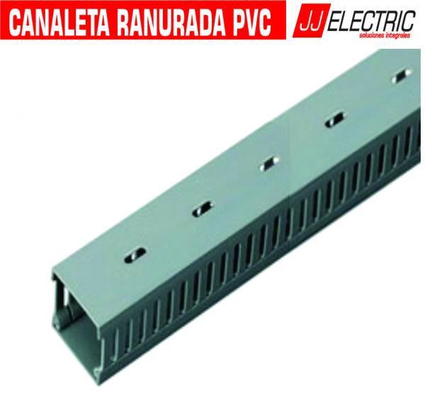 Portacables canaleta pvc jj electric peru soluciones - Canaleta de pvc ...